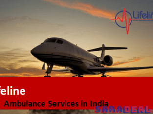 Lifeline Air Ambulance in Varanasi Entails Reasonably Priced Services