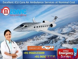 Get Medical Expert with Finest Service by Medivic Air Ambulance in Ranchi