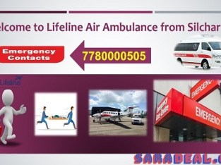 Ultimate Support of Lifeline Air Ambulance in Silchar to Patient Transfer