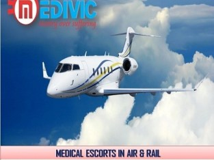 Avail Perfect Life Saver Charter Air Ambulance in Delhi by Medivic