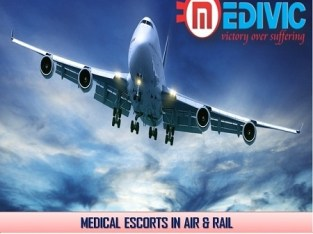 Gain Magnificent Healthcare by Medivic Air Ambulance in Guwahati