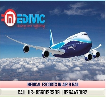 Avail Supreme Exigency Life Care Air Ambulance in Ranchi by Medivic