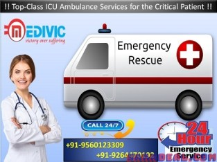 Quick Response Emergency Ambulance in Dhanbad by Medivic
