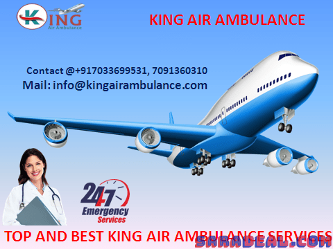 Shift with ICU Facility- King Air Ambulance Service in Bangalore