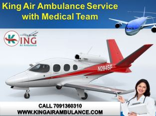 Time Saving – King Air Ambulance Services in Patna