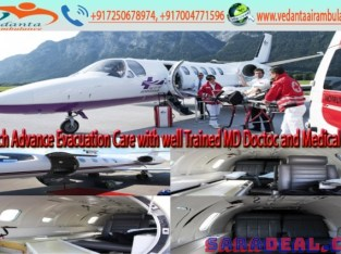 Use Immaculate Medical Care Air Ambulance in Ranchi by Vedanta