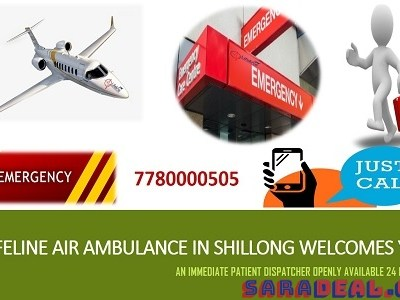 Lifeline Air Ambulance in Shillong- Rent Astute Delivery of Critical Patient