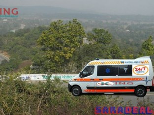 Hire Superior Ambulance Service in Patna with Medical Facility