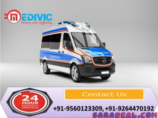 Select Valuable Medical Care by Medivic Ambulance Service in Delhi