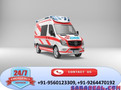 Get Prime Life-Support Ambulance Service in Patna by Medivic