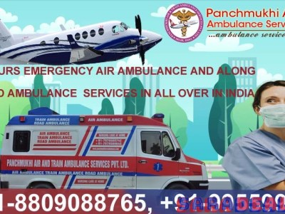 You Can World-Class Air Ambulance Service in Jaipur by Panchmukhi