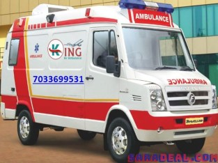 Emergency ICU Ambulance Service in Katihar-King