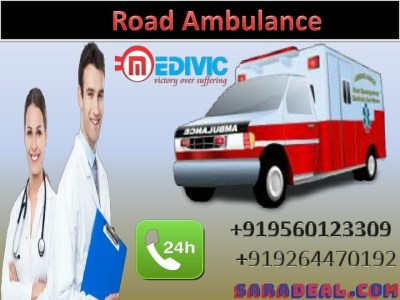 Hire Special Road Ambulance in Jamshedpur with Expert Medical Team at Low Price