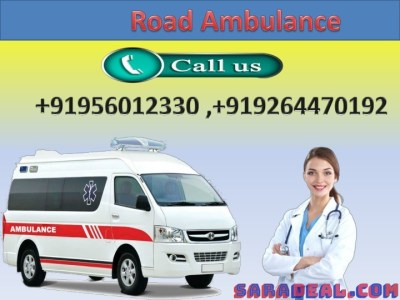 Medivic High Class Life Sustaining Road Ambulance Service in Gaya