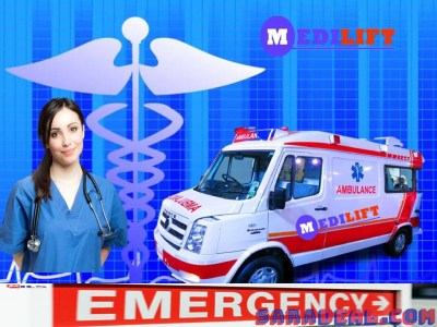 Pick Needed Medical Equipment in Medilift Ambulance Bokaro