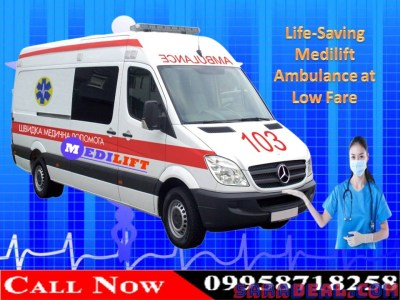 The Best Patient Transfer Service in Patna by Medilift Ambulance