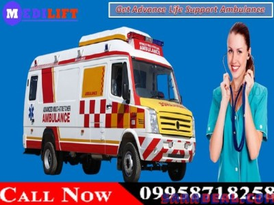 Get Best and Low-Cost Road Ambulance Service in Kumhrar, Patna by Medilift