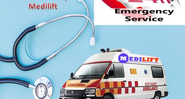 Get Better Patient Care Road Ambulance in Patna by Medilift