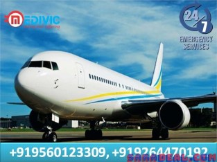 Get Reliable Air Ambulance Services in Patna with ICU Facility by Medivic