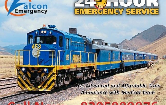 Get Falcon Emergency Train Ambulance in Delhi for Serious Patient Transport