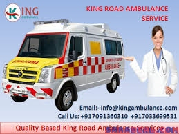 Top-Class Road Ambulance Service in Darbhanga at Low Rate by King