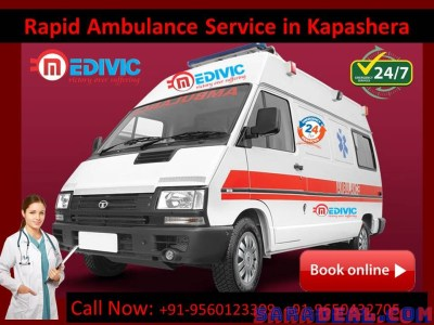 Responsible Ambulance Service in Kapashera