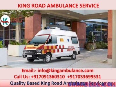 Transfer your patient with King Road Ambulance Service in Lalpur, Ranchi