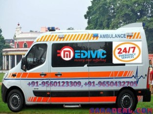 Hi-Tech and Best Ambulance Service in Kumhrar by Medivic