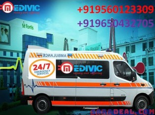 Hire Paramount Ambulance Service in Jamshedpur with ICU by Medivic
