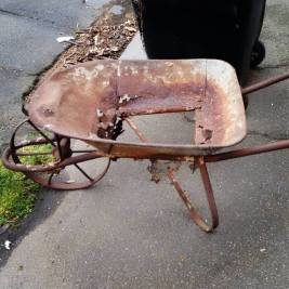 red-wheelbarrow