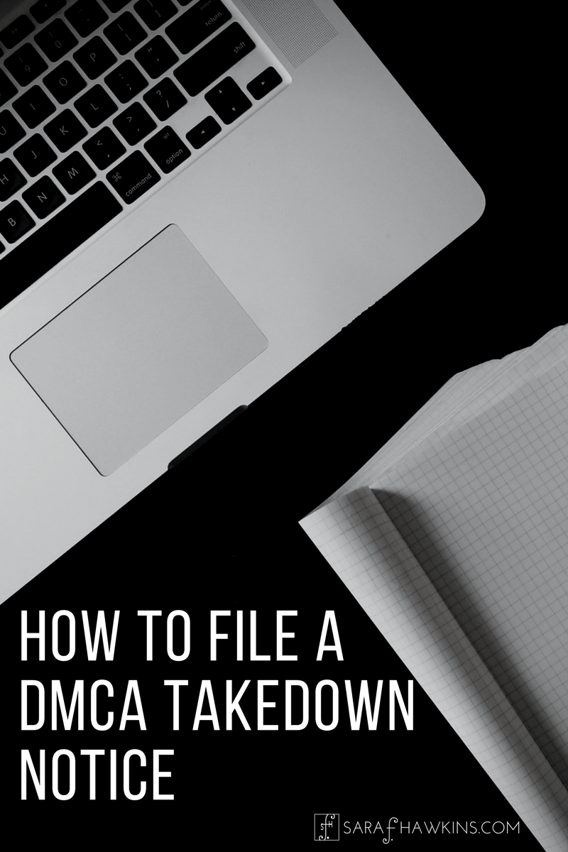 DMCA Takedown Notice Directions