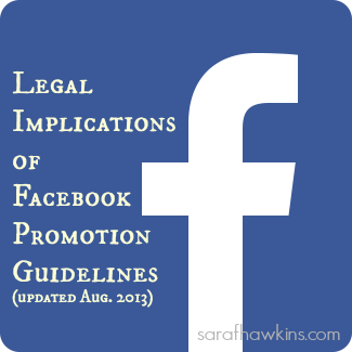 Legal Issues for Facebook Promotions
