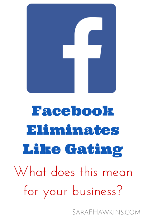 Facebook LIke Gating Ends