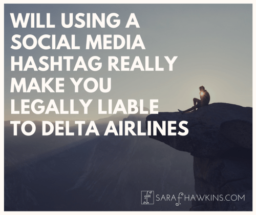 Delta Hashtag Photo Use