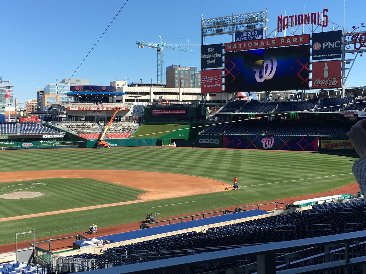 What's New at Nationals Ballpark