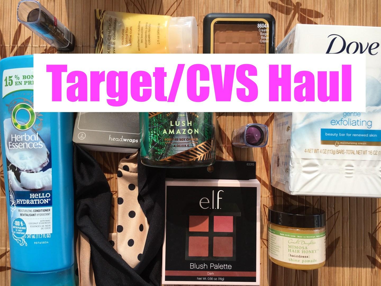Target/CVS Haul | June 2016