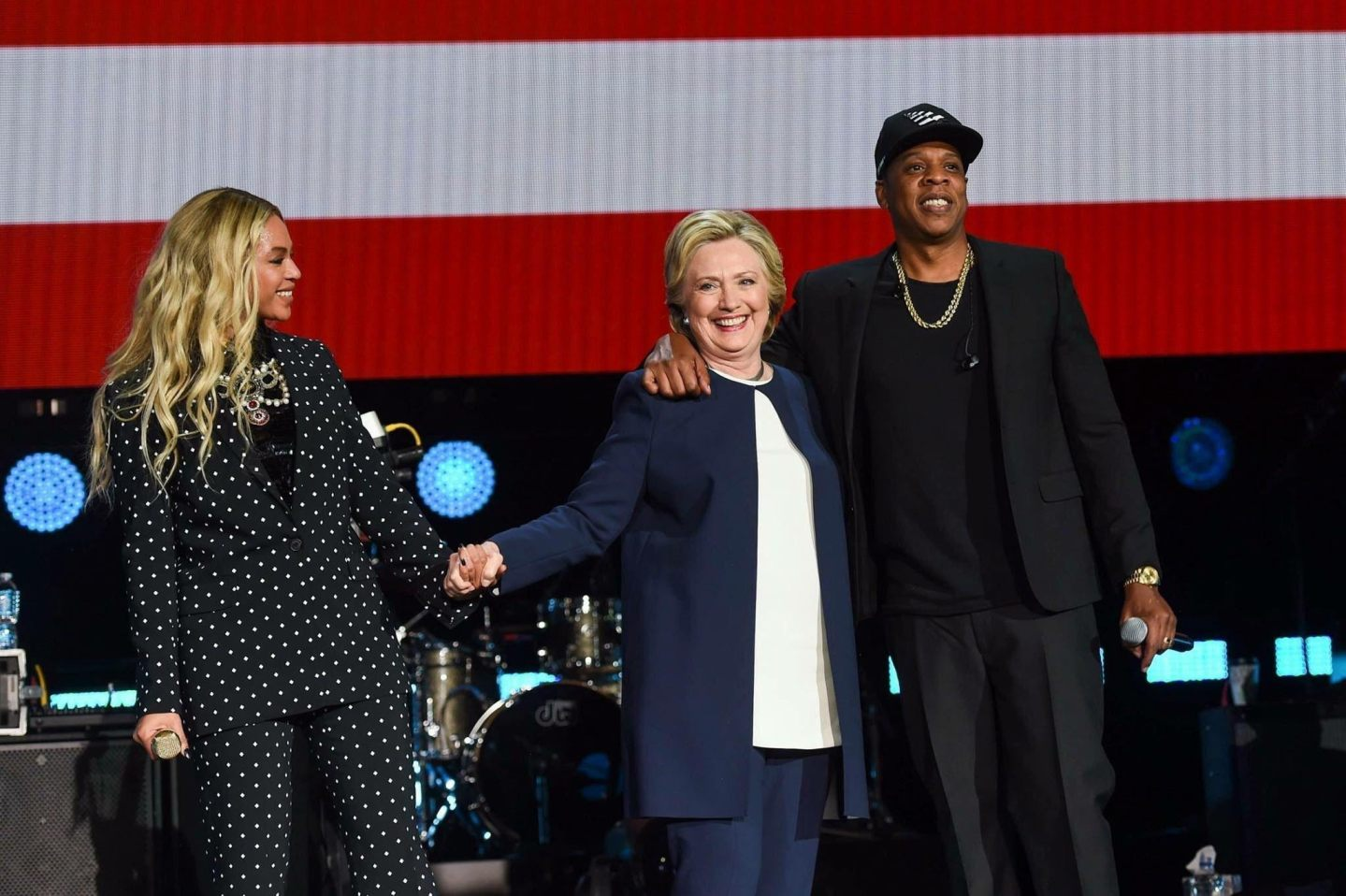 Beyonce and Jay-Z Campaign for Hillary Clinton in Cleveland