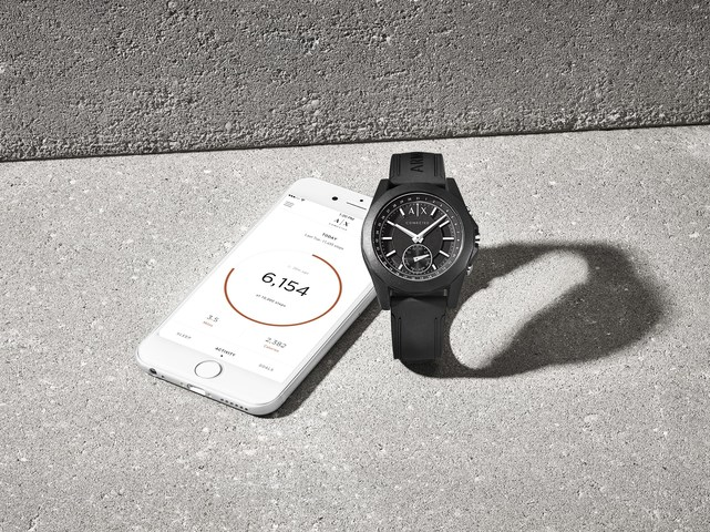 Armani Exchange Launches Smart Watch Collection