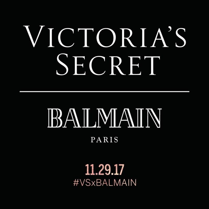 Victoria's Secret X Balmain Paris Collab Coming in November | #VSxBALMAIN