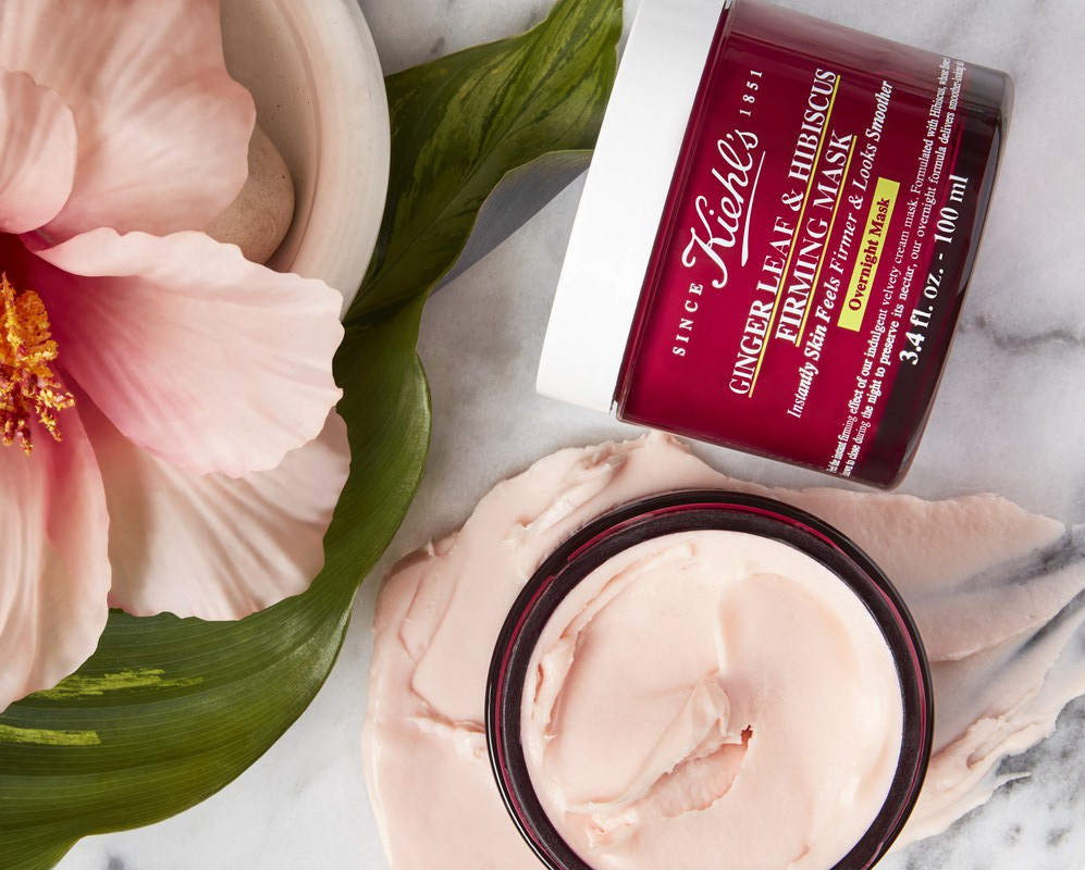 New Arrival! Kiehl's Ginger Leaf & Hibiscus Firming Mask
