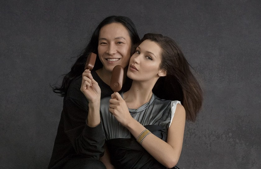 Supermodel Bella Hadid & Alexander Wang Join MAGNUM® for Cannes Campaign