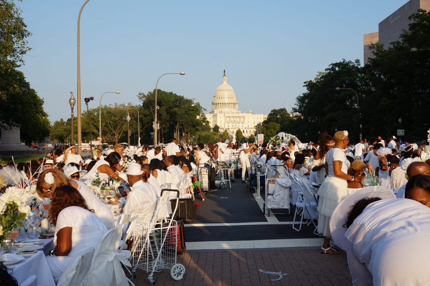 Inside Diner En Blanc | Washington, DC