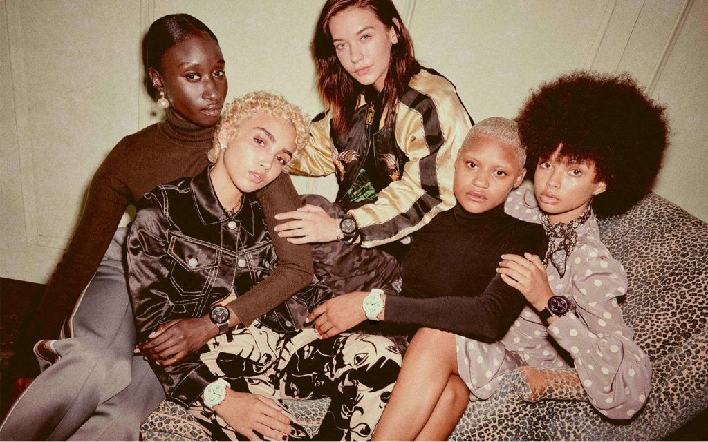 Marc Jacobs Introduces the New Riley  Smartwatch + Celebs in Marc Jacobs