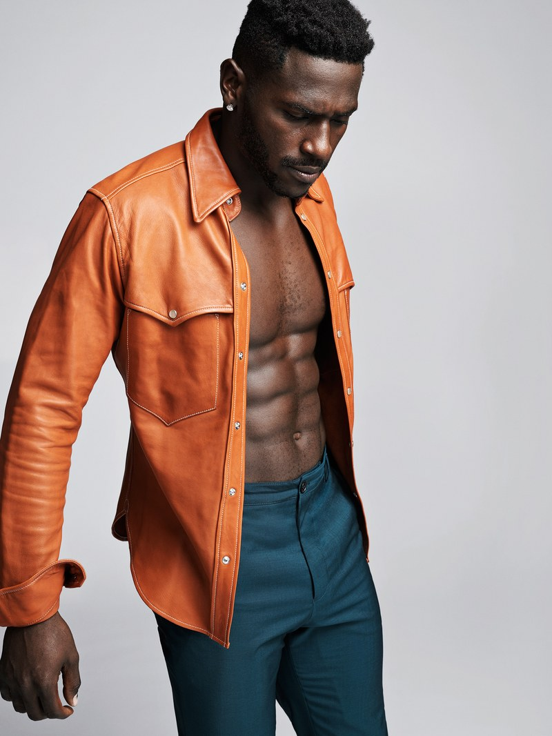 Pittsburgh Steeler Antonio Brown Opens Up in GQ