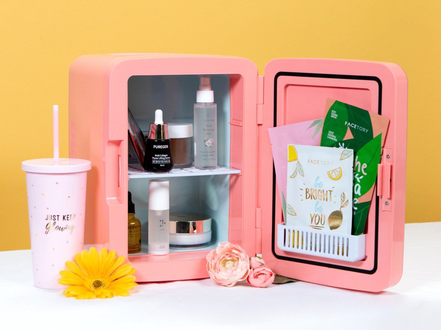 A Fridge for your Makeup? The FaceTory Fridge