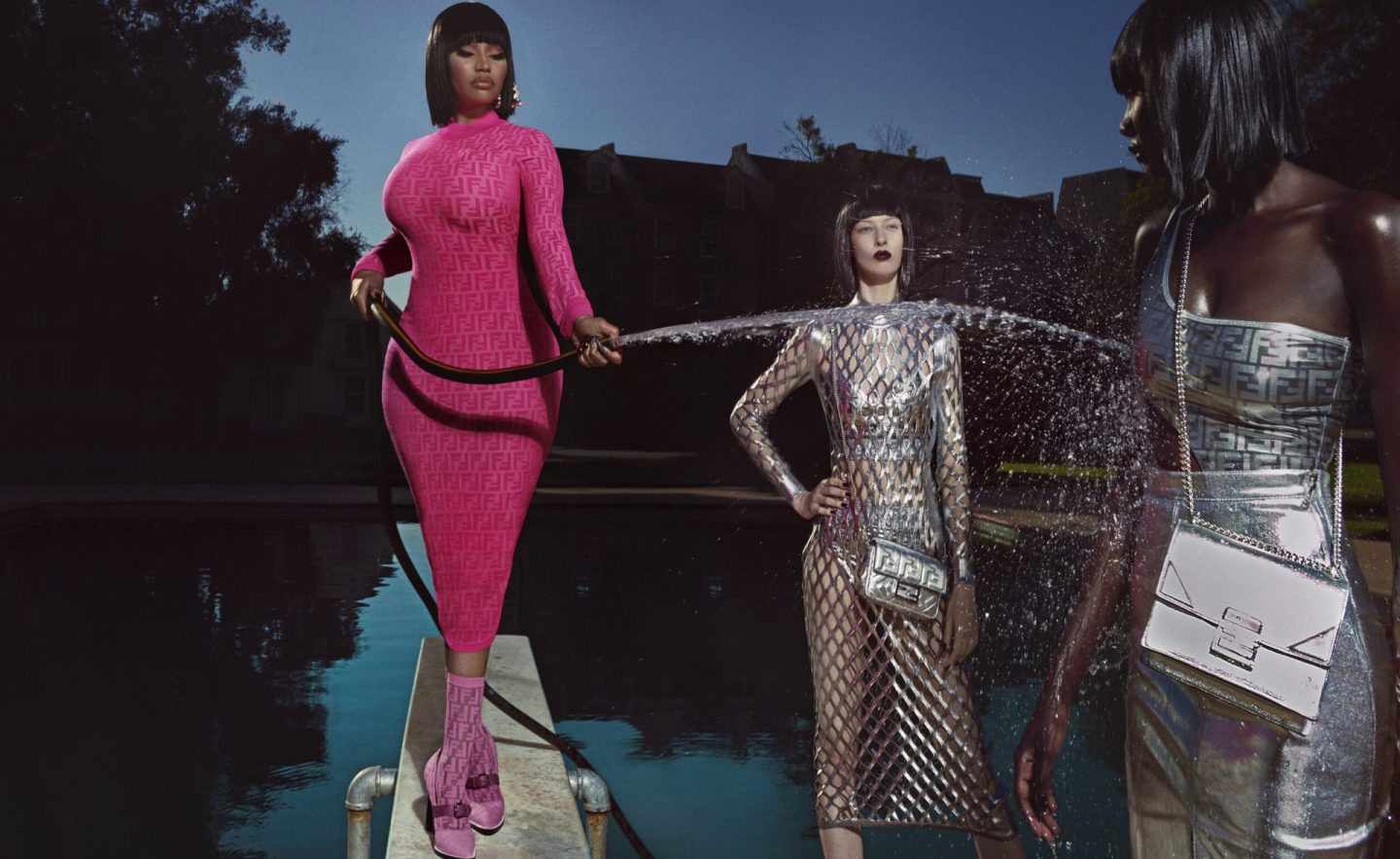 Fendi Debuts Capsule Collection with Nicki Minaj