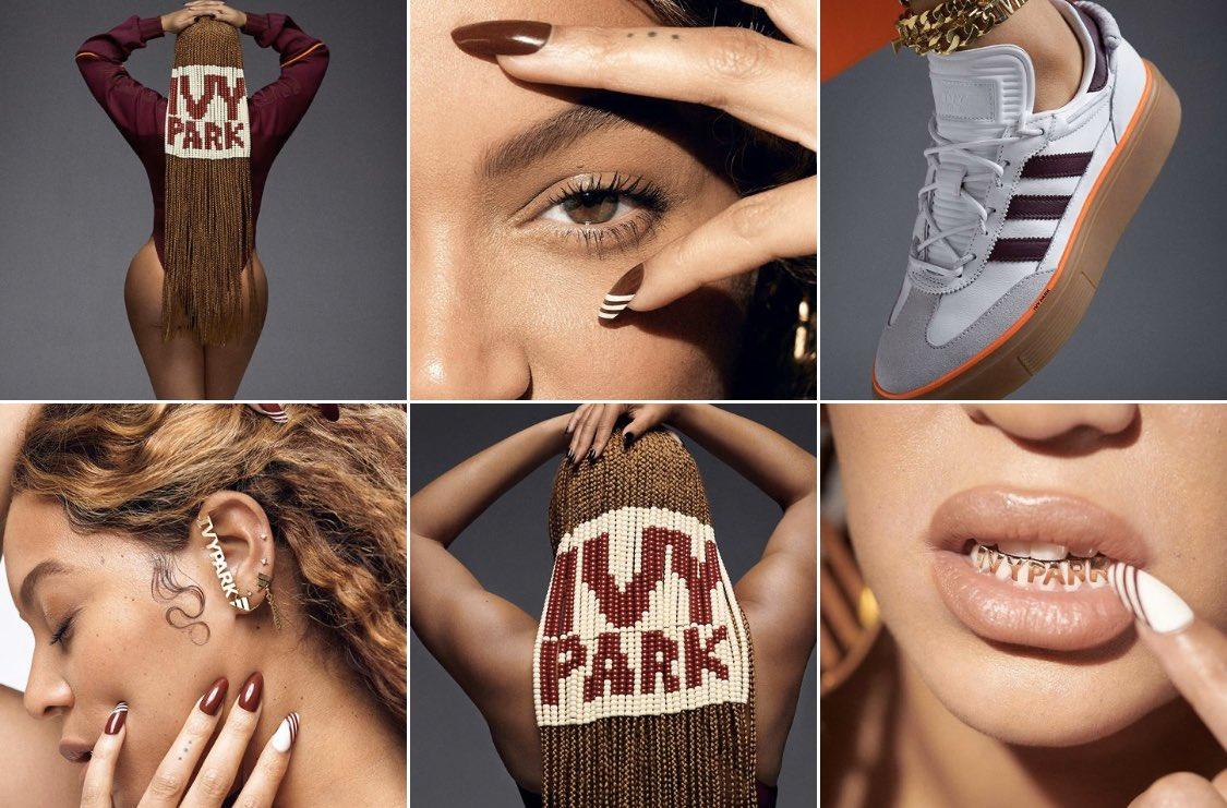 IVY PARK teaser on Beyoncé's Instagram