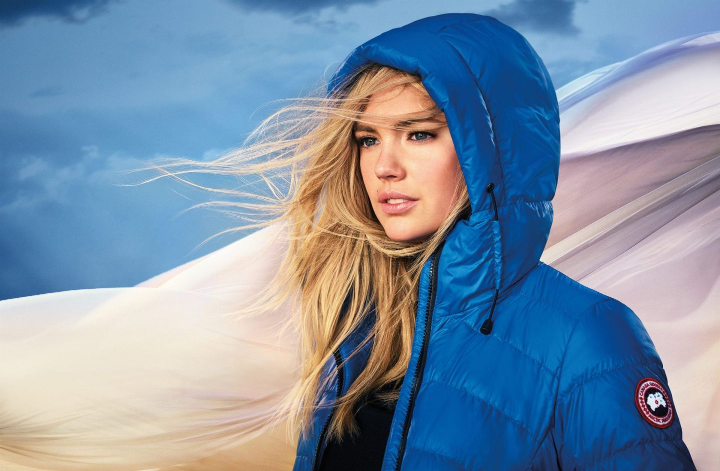 Canada Goose Teams with Model Kate Upton