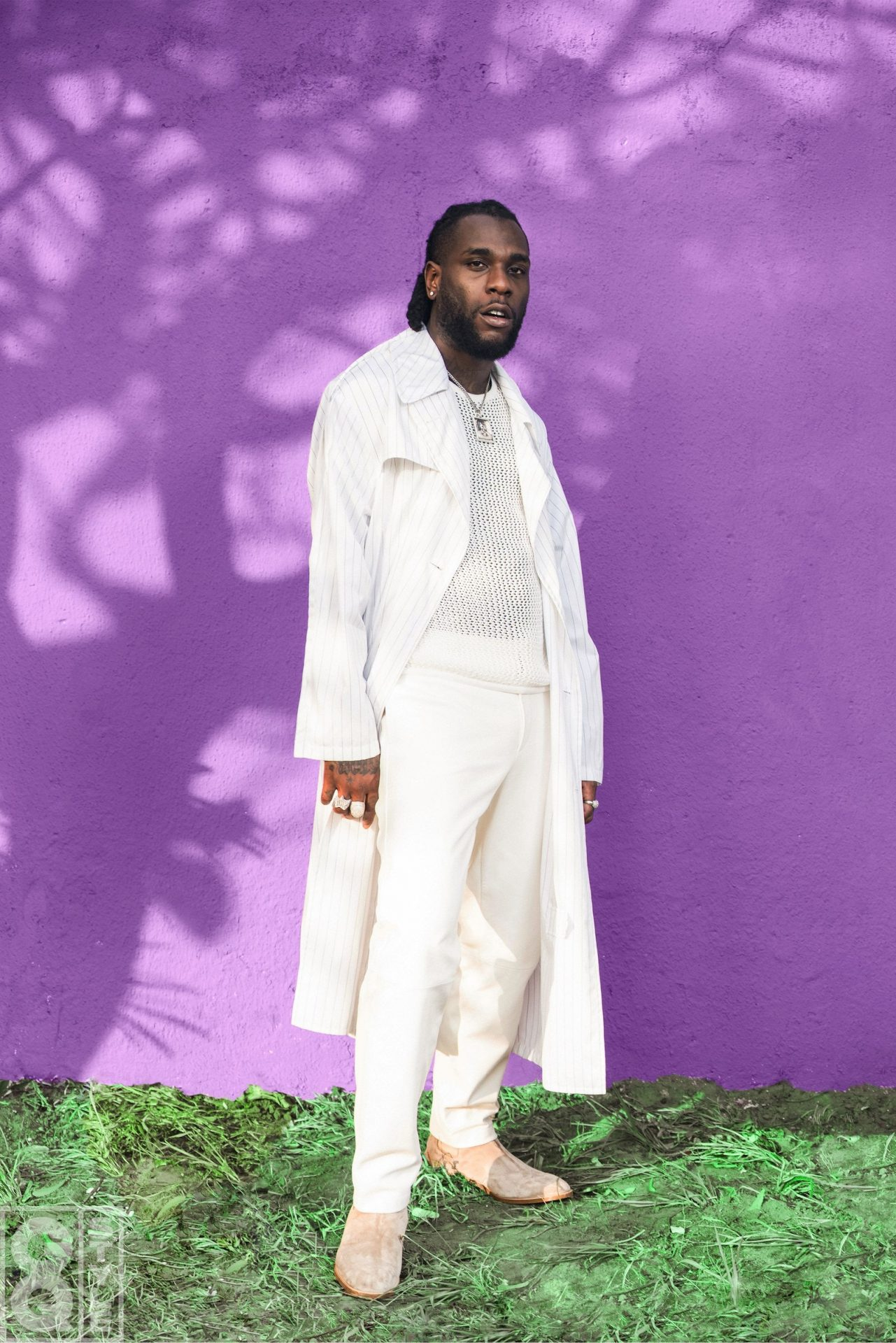 Burna Boy Shines In Lagos for GQ Style!