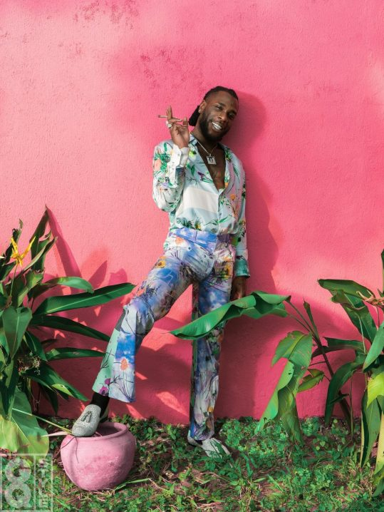 Burna Boy in GQ
